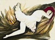 The dancer. Omar Bigheaded