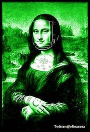 Mona Lisa/Suicide Girls/Version Green_Mask…. Elio Acosa