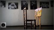 Black & White. Gallery Art