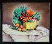 Corbeille de légumes. Jean-François Briand