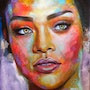 Rihanna. Art At The Ridge (Antigua & Barbuda)