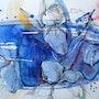Blue dreams. Dariya Tumanova