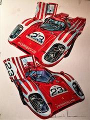 Porsche 917. Gilbert Verani
