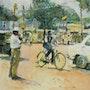 Le Cycliste de Mysore.