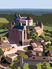 2021-03-10 Château de Biron.