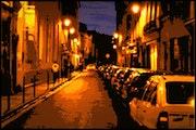Paris la Nuit dans les Années 90.