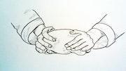 Mettre la main à la patte. Edeudeu