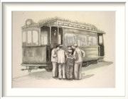 El tranvia de 1900. Jorge Garcia