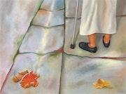 Le pas a la residence d'automne. Joëlle Madsen-Fiacre