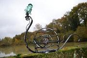 Sculpture escargot..