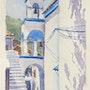 Kirche in Marathokampos, Samos. Martina Philippi