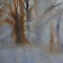 Sous bois en hivers. Jean Paul Faivre