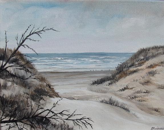 Entre deux dunes sur la côte d'opale. Lise Buissart Lise Buissart