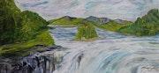 Sunwapta Falls.