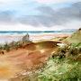 A Hatainville dans le Cotentin. Adyne Gohy