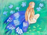 La fée des bleuets.