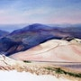 Sur le Mont Ventoux. Adyne Gohy