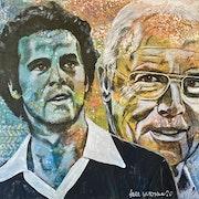 Franz Beckenbauer, deutscher Fußballnationalspieler, Trainer und Funktionär..