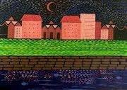 Nightscape - the beautiful world. Arpa Mukhopadhyay