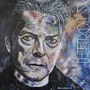 David Bowie, britischer Musiker, Sänger, Produzent und Schauspieler.