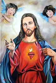 Sagrado corazon de jesus. Benjamin Torres