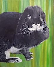 La lapine.
