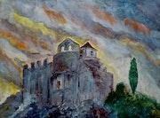 Castillo de la Santa Cruz.