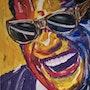Ray Charles, US-amerikanischer Sänger, Songwriter und Komponist. Herr Kossmann