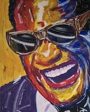 Ray Charles, US-amerikanischer Sänger, Songwriter und Komponist.