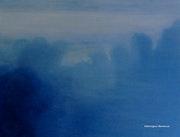 Le paysage bleu anglais.