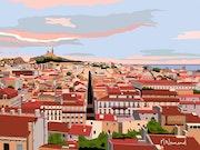 2021-03-30 Toit de Marseille. Michel Normand