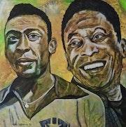 """Edson Arantes do Nascimento, """"pelé"""" einer der Weltbesten Fußballer."""