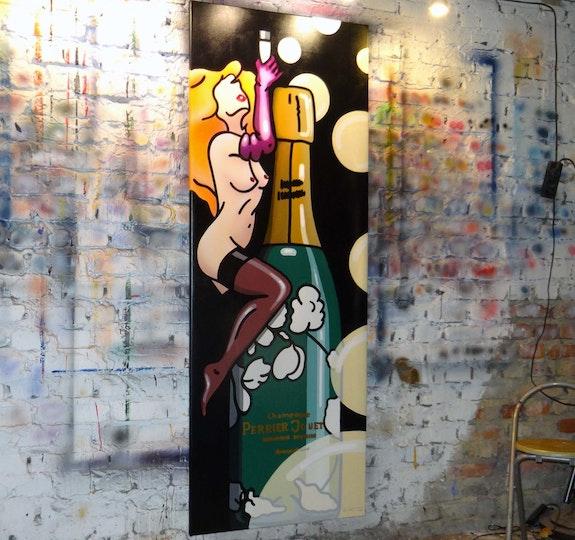 «Lulu - Sparkling Champagne». Liberty E. Moore Liberty E. Moore