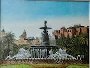 La fuente de las 3 gracias (Malaga). Manuel Torres Caparros