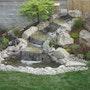 Fontaine d'eau Feng Shui. Bouddha-Mantra