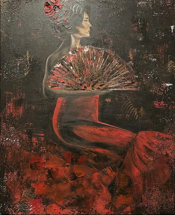 Flamenco Dancer. Katarzyna Boduch Kate_Art