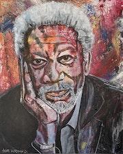 Morgan Freeman, US-amerikanischer Schauspieler, Moderator und Regisseur.