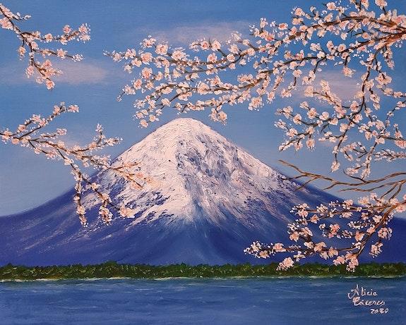 Le Mont Fuji. Alicia Alicia Cáceres
