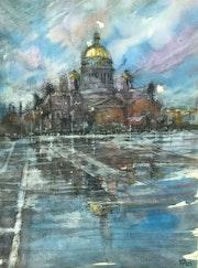 Verglas à St. Petersbourg. Emilian Alexianu