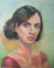 Portrait of woman. Josan