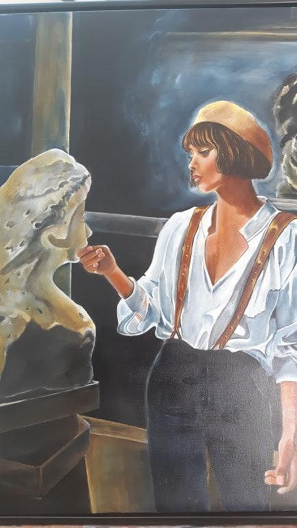 L'artiste.  Nelly Larue