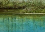 L'étang des Mouilles.