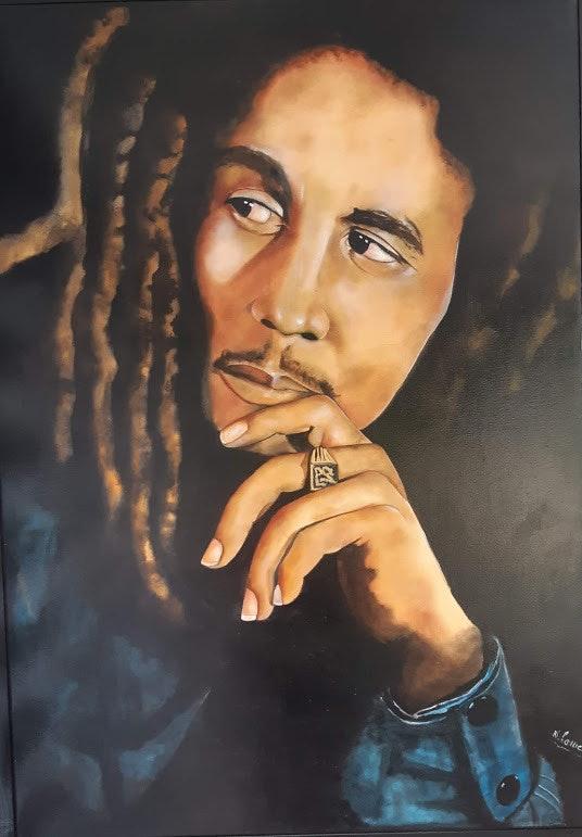 Bob Marley. Nelly Larue
