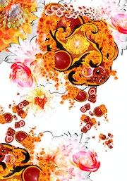 Titel Mars, Poster aus dem Jahr 2004, digitale Kunst.