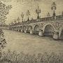Pont de Pierre à Bordeaux. Jean-Yves Saint Lezer