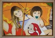 Alexandra et Hermann, nos enfants. Bruno D'allongeville