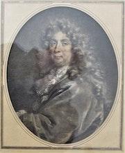 Le peintre Ch. Le Brun, d'après G. Ederlinck, d'après Nicolas de Largillière.