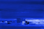 L'heure bleue. Philippe Facon