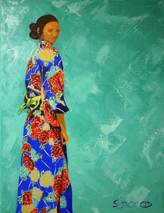 Autoportrait nippon. Sandrine Jaccod Sandrine Jaccod