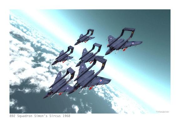 892 Squadron Simons Sircus 1968. Terry Berresford Terry Berresford